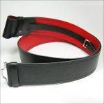 Kilt Belt - Grain With Red Back