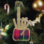 Bagpipe Ornament