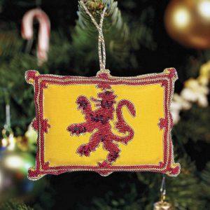 Flag Ornament: Lion Rampant