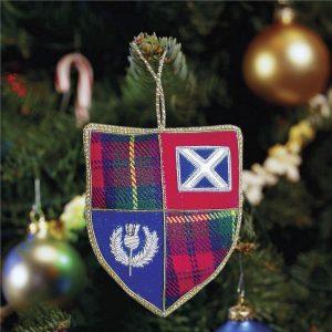 Scottish Shield Ornament