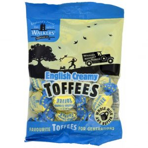 English Creamy Toffee - Walker's
