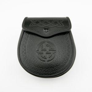 Dayware Sporran - Embosed Celtic Design