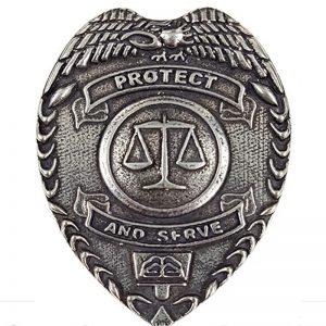 Police Dept Cap Badge