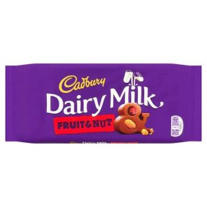 Dairy Milk Fruit & Nut Bar
