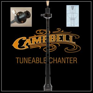 Campbell Tunable Pipe Chanter by McCallum - Poly